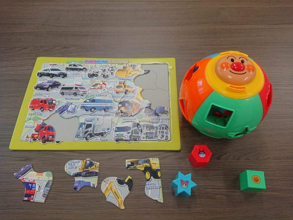 打ち合わせ室 三輪知雄法律事務所 子供用おもちゃ